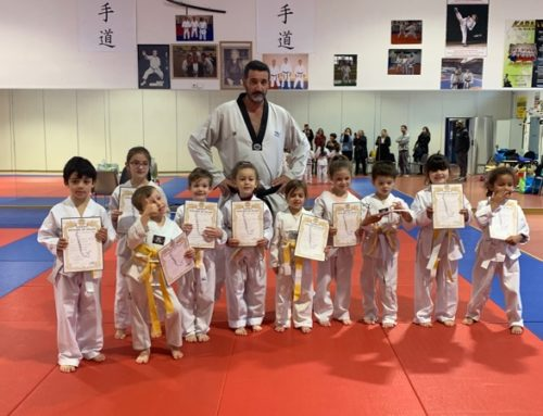 Passage de grades section enfants Puget sur Argens